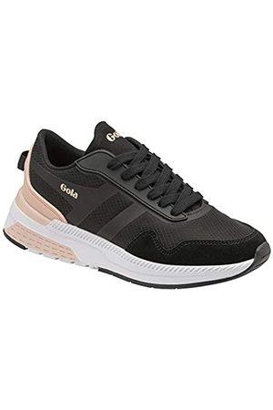 Gola Damen Atomics Road Running Shoe, Black/Blossom
