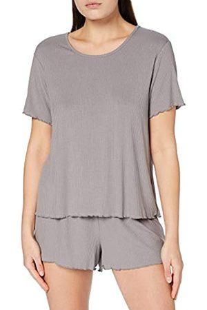 IRIS & LILLY AMZ21SSPJ01 Zweiteiliger Schlafanzug