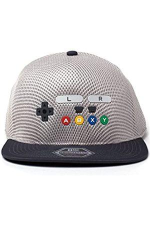 Nintendo Nintendo Unisex Original SNES Controller Inspired Seamless Flatbill Cap Baseballkappe