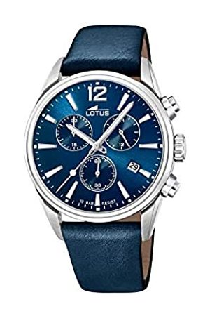 Lotus Herren Chronograph Quarz Uhr mit Leder Armband 18691/1