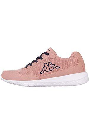 Kappa Unisex Follow Nc Sneaker, 7167 darkrosé/navy