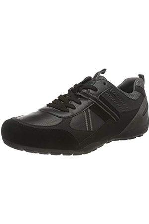 Geox Mens U RAVEX A Sneaker, Black