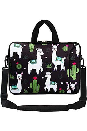Violet Mist Laptop-Schutzhülle, Neopren, wasserdicht, Aktentasche, verstellbarer Schultergurt, Außentasche für Damen und Herren, 28,9 cm, 33,8 cm, 33,8 cm, 33,8 cm