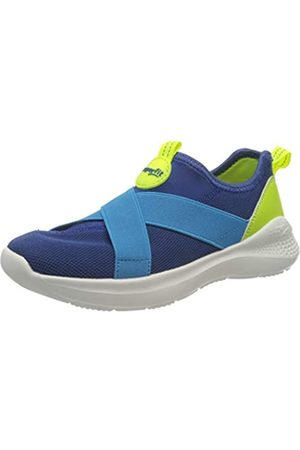 Superfit Superfit Flash Hausschuh, BLAU/GELB