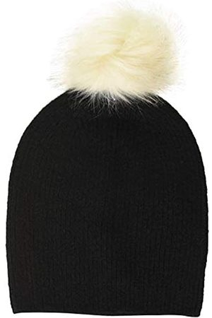 Pieces Damen Hüte - Damen PCBINA Wool Hood NOOS Mütze, Black