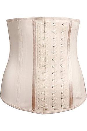 "Lady Slim Damen Korsetts - Damen Fajas Colombiana Latex Taille Cincher/Trainer/Trimmer/Korsett Gewichtsverlust Shaper M Taille 29,5"" - 31"