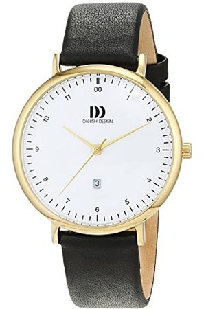 Danish Design Danish Design Damen Analog Quarz Uhr mit Leder Armband 3320233
