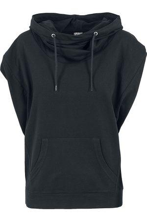 Urban classics Ladies Sleeveless Terry High Neck Hoodie Girl-Shirt