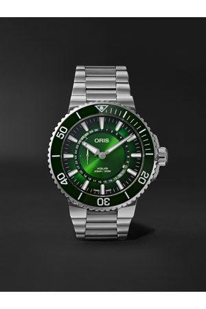 Oris Herren Uhren - Hangang Limited Edition Automatic 43.5mm Stainless Steel Watch, Ref. No. 743 7734 4187-Set