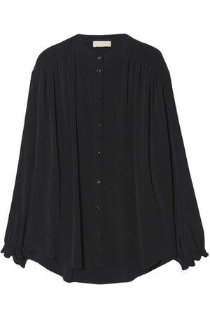MOMONÍ Damen Blusen - Hemd Firenze aus Mischseide