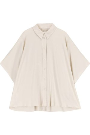 MOMONÍ Damen Blusen - Hemd Genova aus Mischseide
