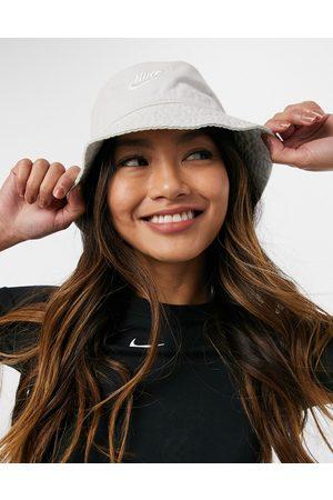 Nike – Anglerhut mit Logo in gebrochenem