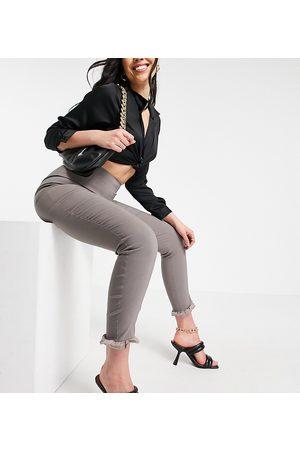 Vesper Damen Leggings & Treggings - – Schmal geschnittene Hose in mit Rüschendetail, Kombiteil