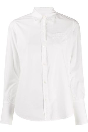 NILI LOTAN Damen Blusen - Klassisches Popeline-Hemd