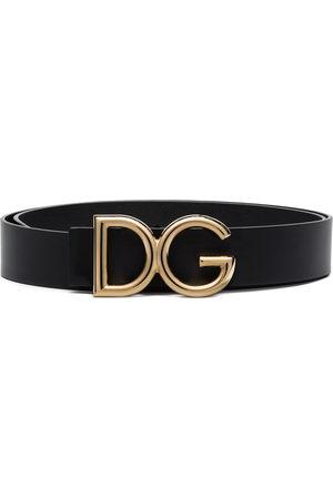 Dolce & Gabbana Gürtel mit DG-Schild
