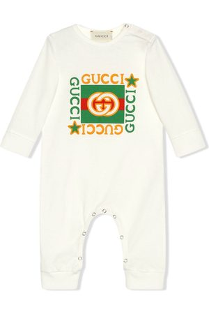 Gucci Strampelanzug mit Vintage-Logo