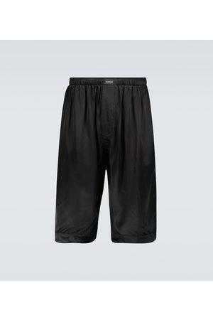 Balenciaga Schlafanzüge - Pyjama-Shorts aus Satin
