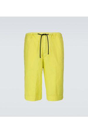 DRIES VAN NOTEN Shorts - Shorts mit weitem Bein aus Baumwolle