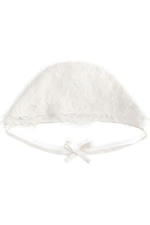 Dolce & Gabbana Spitzenmütze mit Schleife