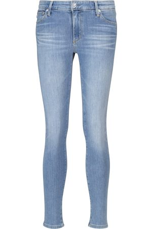 AG Jeans Mid-Rise Skinny Jeans The Legging Ankle