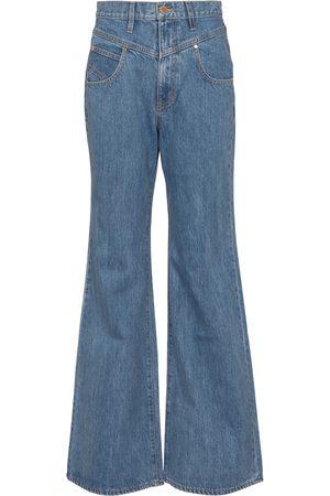SLVRLAKE X ELLERY High-Rise Flared Jeans Highway