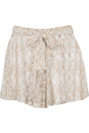 Missoni Shorts aus Häkelstrick