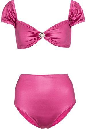 Alessandra Rich Verzierter Bikini