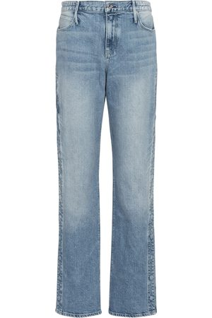 RTA High-Rise Straight Jeans Michael