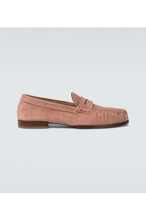 Tod's Loafers aus Veloursleder