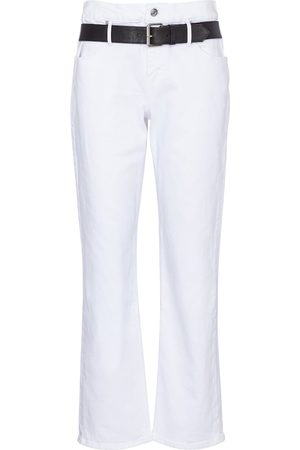 RTA High-Rise Cropped Jeans Dexter
