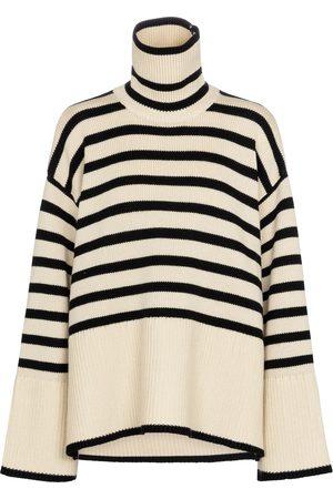 Totême Pullover aus Wolle und Baumwolle