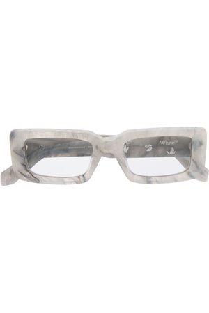 OFF-WHITE Eckige Sonnenbrille