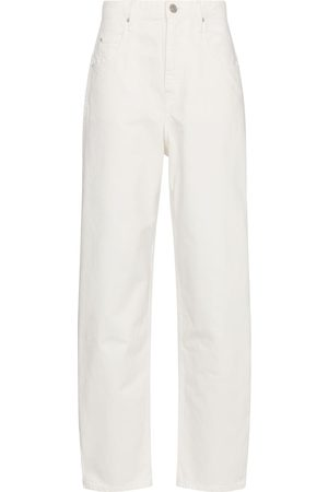 Isabel Marant, Étoile Damen Straight - High-Rise Straight Jeans Corfy