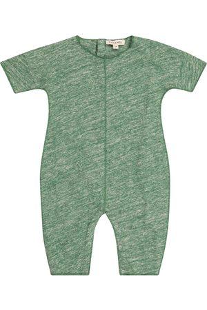 Caramel Baby Jumpsuits - Baby Spieler Sea Grass