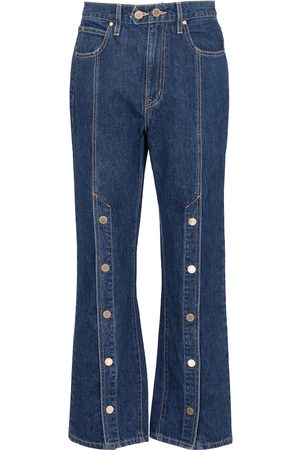 SLVRLAKE X ELLERY High-Rise Straight Jeans Stagecoach