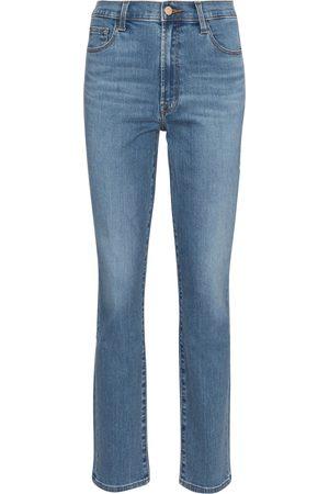 J Brand High-Rise Slim Jeans Teagan