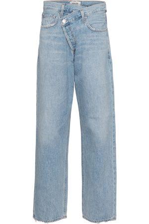 AGOLDE High-Rise Jeans Criss Cross