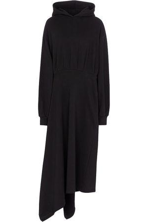 Balenciaga Damen Freizeitkleider - Midikleid aus Baumwoll-Jersey