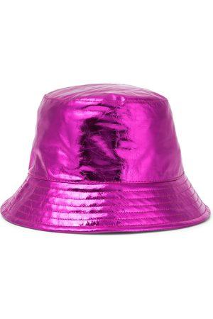 Isabel Marant Hut Haley aus Metallic-Leder