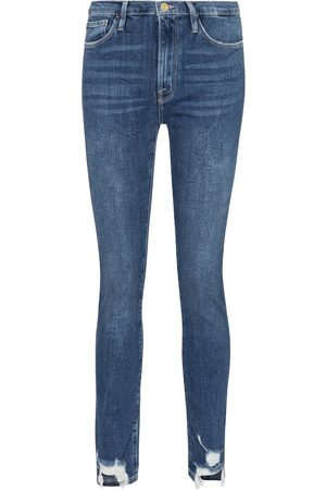 Frame High-Rise Jeans Le Skinny