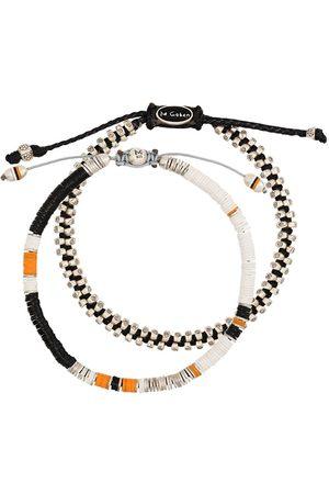 M. COHEN Herren Armbänder - Set of 2 beaded bracelets