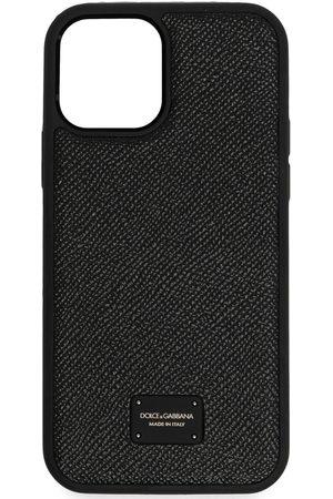 Dolce & Gabbana Herren Handy - IPhone 12 Pro-Hülle mit Logo