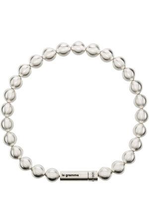 Le Gramme Herren Armbänder - Le 47g brushed bead bracelet