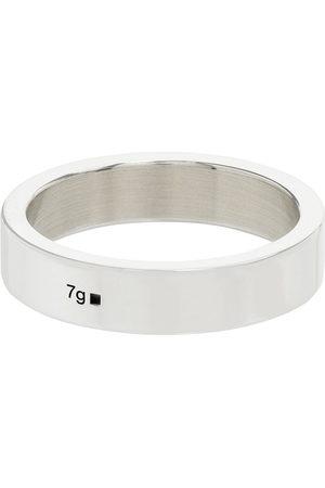 Le Gramme Herren Ringe - Sterling silver La 7g polished ribbon ring