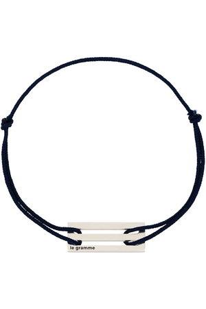 Le Gramme Sterling silver Le 2.5g cord bracelet