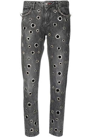 Philipp Plein Damen Baggy & Boyfriend - Boyfriend-Jeans