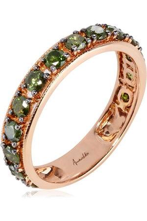 ANNOUSHKA 18kt Rotgoldring mit Diamanten