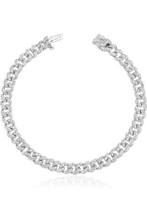 Shay Asli Classic Chain Armband mit Diamanten-Pavé