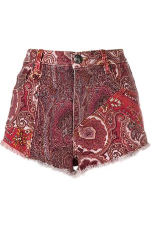 Etro Damen Shorts - Shorts im Patchwork-Look
