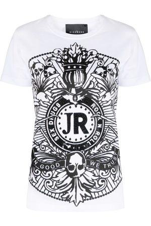 John Richmond T-Shirt mit grafischem Print